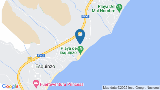 SBH Club Paraíso Playa - All Inclusive Map