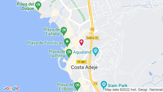 Sunset Bay Club by Diamond Resorts Map