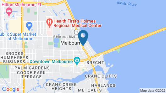 Super 8 by Wyndham Melbourne Map