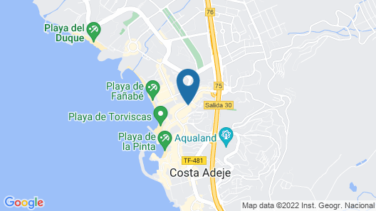 Playaolid Suites & Apartments Map