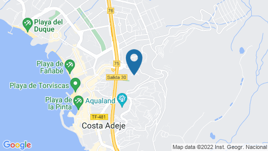 Neptuno Costadeje Map