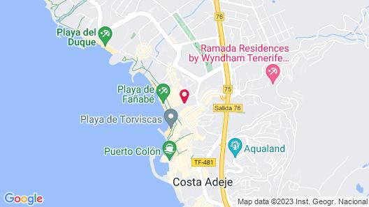 Guayarmina Princess - Adults Only Map