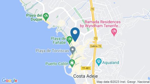 Sol Sun Beach Apartamentos Map