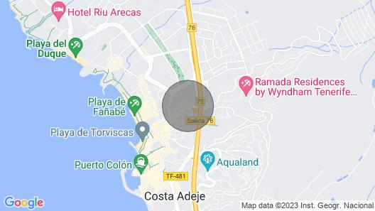 Mareverde New Renovation 2 Bedrooms Sleeps 4 Top Location Playa Fañabe Map