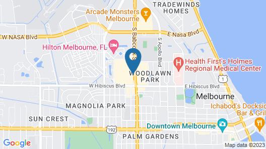 Residence Inn by Marriott Melbourne Map