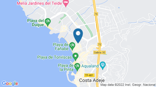 Royal Sunset Beach Club by Diamond Resorts Map