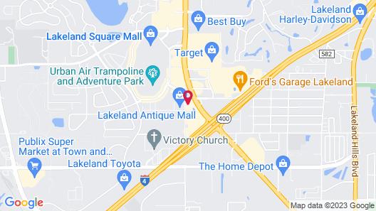 Comfort Inn & Suites Lakeland North I-4 Map