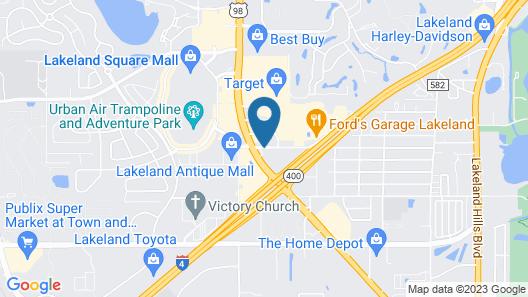 La Quinta Inn & Suites by Wyndham Lakeland West Map