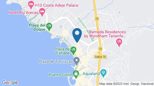 Iberostar Grand Salomé - Adults Only Map