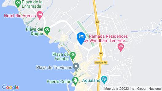 LABRANDA Suites Costa Adeje Map