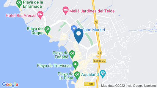 Hotel Colón Guanahaní Adults Only Map