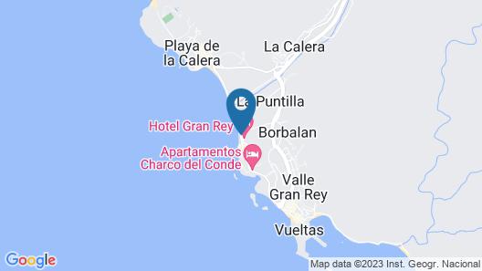 Hotel Gran Rey Map