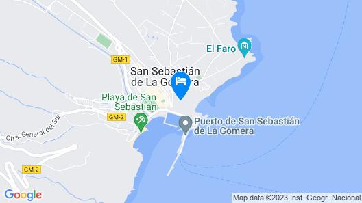 Parador de La Gomera Map