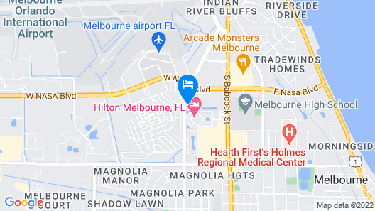 Suburban Extended Stay Hotel Melbourne Airport Map