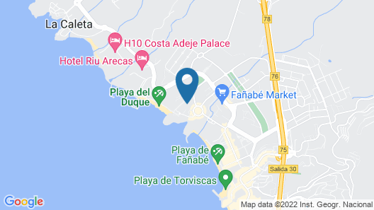 Gran Tacande Wellness & Relax Costa Adeje Map
