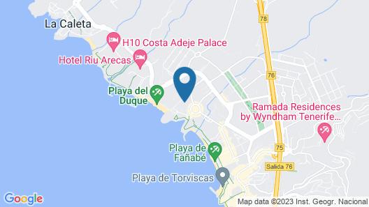 Gran Tacande Wellness & Relax Costa Adeje Map