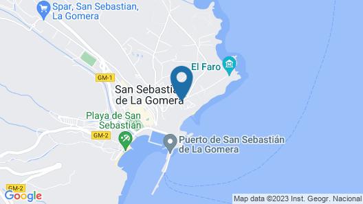 Apartamentos Chijere San Sebastián Map