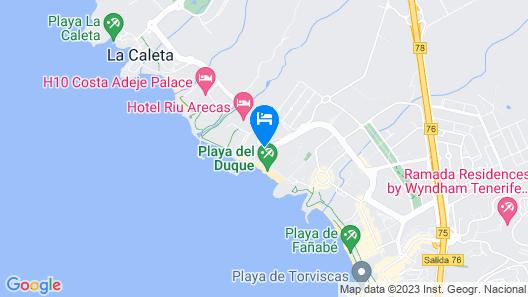 Iberostar Grand El Mirador – Adults Only Map