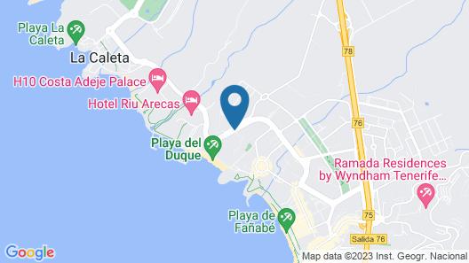 Bahia del Duque Map