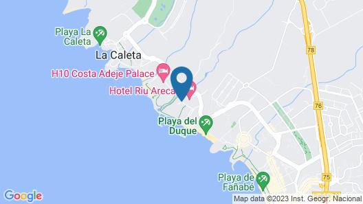 Hotel Riu Palace Tenerife Map