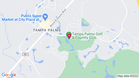 Tampa Palms Golf and Country Club Map
