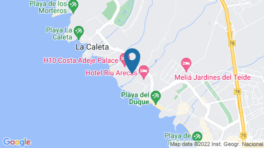 Sheraton La Caleta Resort & Spa, Costa Adeje, Tenerife Map
