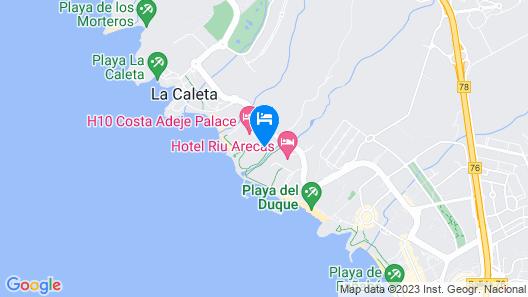 Sheraton La Caleta Resort & Spa, Costa Adeje, Tenerife Map