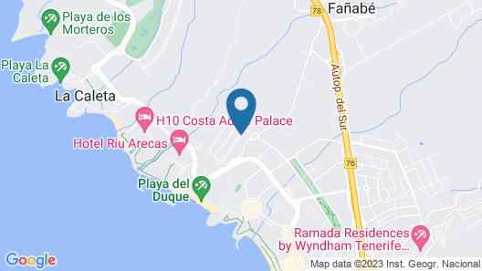 Hotel Baobab Suites Map