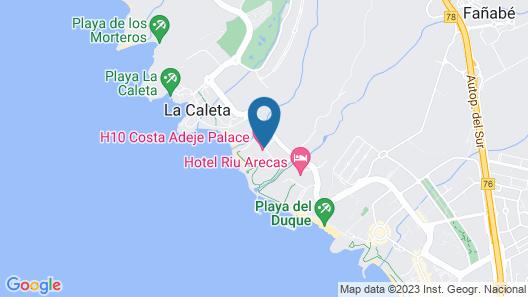 H10 Costa Adeje Palace Map