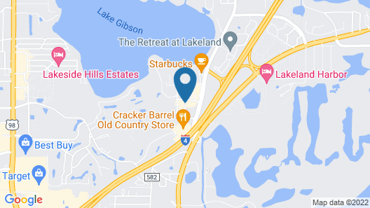 Holiday Inn Express Hotel & Suites Lakeland North - I-4 Map