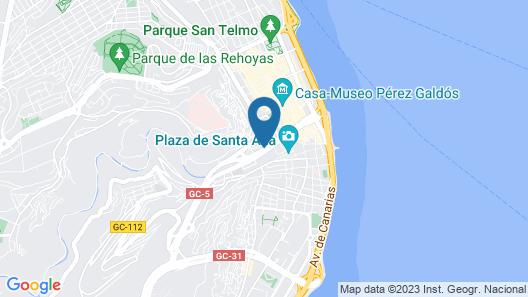 Live 1 Guiniguada - Live Vegueta Map
