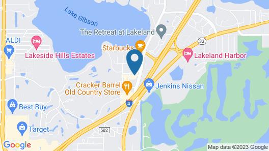 Days Inn & Suites by Wyndham Lakeland Map
