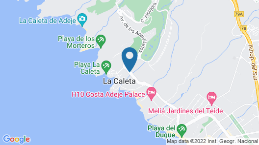 Royal Hideaway Corales Beach, part of Barceló Hotel Group - Adults Only Map