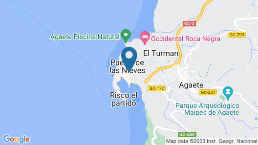 RK Hotel El Cabo Map