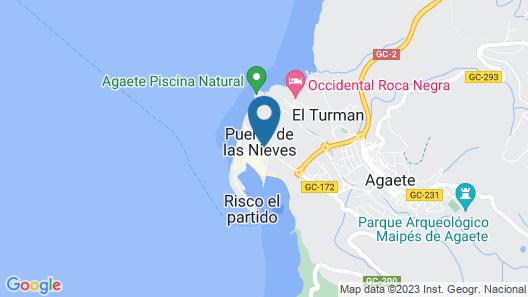 Hotel Puerto de las Nieves Map