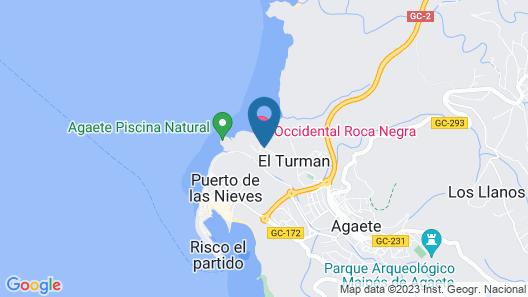 Hotel & Spa Cordial Roca Negra Map