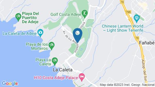 Hotel Suite Villa María Map
