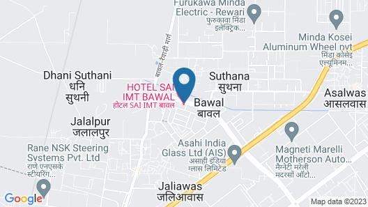 Hotel Sai Map