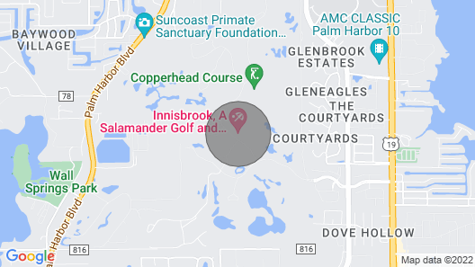 Neat & Clean Innisbrook Resort With Amazing Views That Sleeps 8 Map
