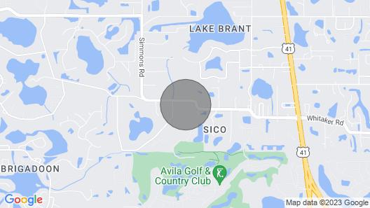 Tampa Bungalow - Hot Tub/Pets/Alexa/Beaches/Busch Gardens Map