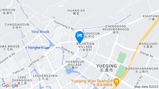Leqing Jinxilai Holiday Hotel Map