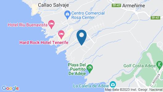 Bahia Principe Sunlight Costa Adeje Map