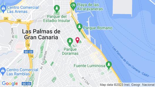 Santa Catalina, a Royal Hideaway Hotel 5*GL Map