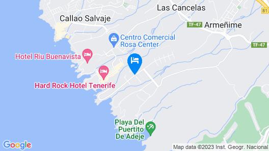 Hard Rock Hotel Tenerife Map