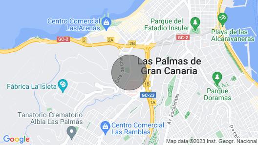 Flatguest Ramblas Golf 6C - Parking + Pool + Gym Map