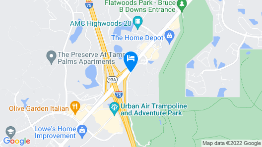 La Quinta Inn & Suites by Wyndham Tampa North I-75 Map