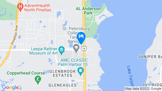 Quality Inn & Suites Tarpon Springs South Map