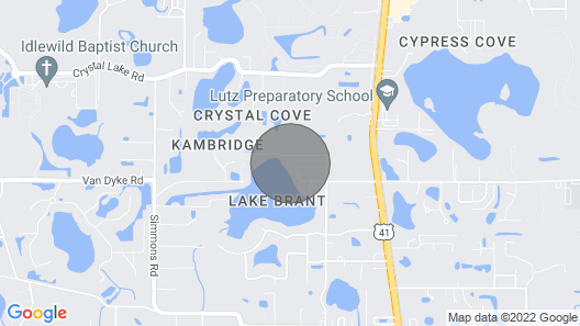 Lakefront Home w/Private Pool, 13 Mi to Tampa Map