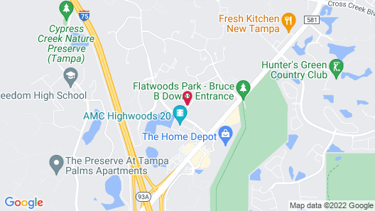 Holiday Inn Express Hotel & Suites New Tampa I-75, an IHG Hotel Map