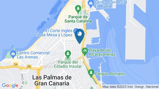 La Fabrica Urban Hostel Map